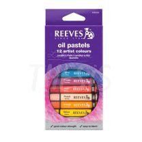 Pastel Oleo Reeves x 12