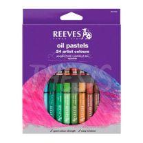 Pastel Oleo Reeves x 24
