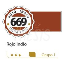 Oleo Alba  18 ml rojo indio 669 G1