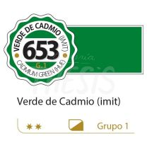 Oleo Alba  18 ml verde cadmio imitacion 653 G1
