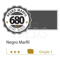 Oleo Alba 125 ml negro marfil 680 G1