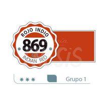 Acrilico Alba   18 ml rojo indio 869 G.1