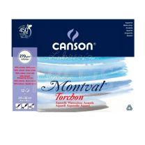 Block Canson Montval 270 gr 24 x 32 cm x 12 hojas
