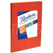 Cuaderno escolar Rivadavia  tapa carton  50 hojas araña Rojo