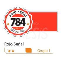 Tempera profesional Alba  18ml rojo senal 784