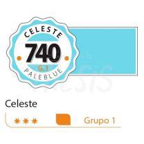 Tempera profesional Alba  18ml celeste 740