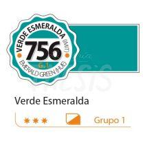 Tempera profesional Alba  18ml verde esmeralda imitacion 756