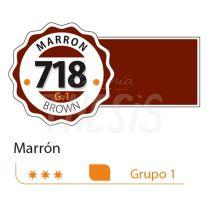 Tempera profesional Alba  18ml marron 718