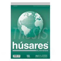 Block Husares Business A4 liso