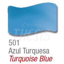 Barniz vitral  37 ml 501 azul turquesa Acrilex