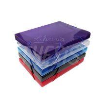 Caja medio oficio con elastico 2,5 cm Rideo