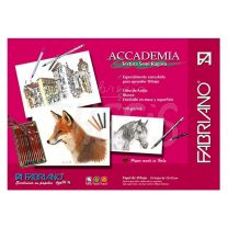 Block Fabriano Accademia 120 gr 25 x 35 cm x 24 hojas