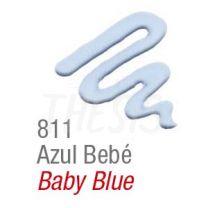 Pintura para tela Acripuff 35 ml azul bebe Acrilex