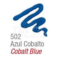 Pintura para tela Acripuff 35 ml azul cobalto Acrilex