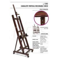 Atril vertical reclinable lustrado 1202 (chico) bandeja 60 cm Seurat