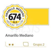 Oleo Alba 125 ml amarillo mediano 674 G2