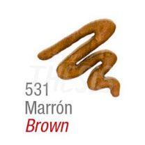 Pintura para tela Acripuff 35 ml marron Acrilex