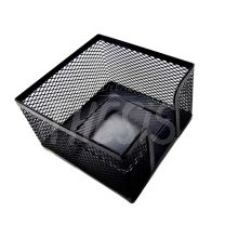 Porta taco 9 x 9 cm negro 511498-1  Coxi Metal Mesh