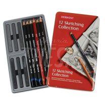 Lapices Derwent Sketching Collection set x 12