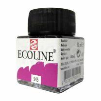 Tinta de Dibujo Talens Ecoline Acuarela 30 ml  Violeta Rojizo 545