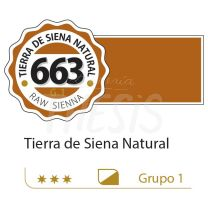 Oleo Alba 125 ml tierra siena natural 663 G1