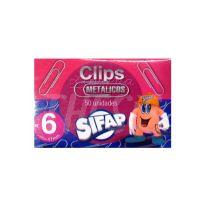 Clips N.6  x  50 Sifap