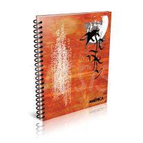 Cuaderno America A4 29,7 80 hojas Cuadriculado Nicas