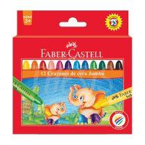 Crayon Escolar Faber Castell  Jumbo x 12  120040  (121514)