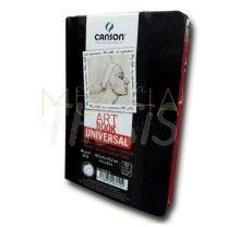 Cuaderno Canson ArtBook Universal 10,2 x 15,2 cm  112 hojas 96 gr