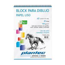 Block Plantec liso 150g A5 40h