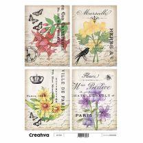 Laminas para Decoupage Creativa Vintage 116-202