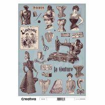 Laminas para Decoupage Creativa Vintage 116-212