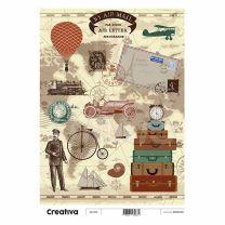 Laminas para Decoupage Creativa Vintage 116-213