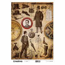 Laminas para Decoupage Creativa Vintage 116-215