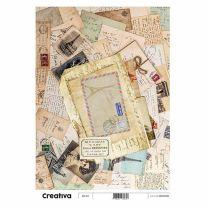 Laminas para Decoupage Creativa Vintage 116-217