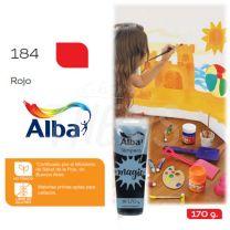 Tempera Alba Magic 170 cc Pomo Rojo 184