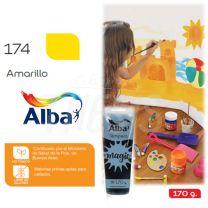 Tempera Alba Magic 170 cc Pomo Amarillo 174