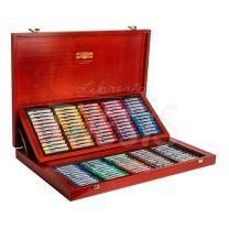 Pastel Tiza Kohinoor Toison x 120 colores caja de madera
