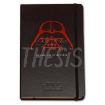 Libreta Brugge Star Wars 13 x 21 cm  96 hojas lisas Vader the dark side of the force