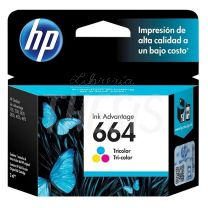 Cartucho Hewlett Packard 664 color