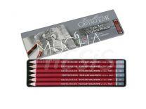 Lapices de Grafito Cretacolor Cleos lata x 6 graduaciones