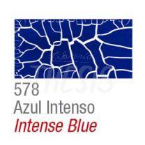 Craquelador color set 2 frascos 37 cc  azul intenso Acrilex
