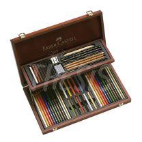 Set Faber Castell Compendium Caja 54 piezas