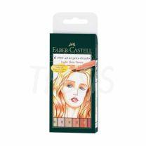 Marcador Faber Castell Pitt x  6 Skin