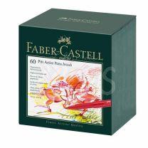 Marcador Faber Castell Pitt x 60 Brush Estudio (167150)