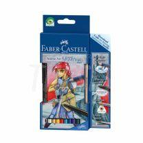 Lapices Faber Castell Art Grip Aquarelle Anime Art Fantasy (114484)