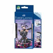 Lapices Faber Castell Art Grip Aquarelle Anime Art Gothic (114485)