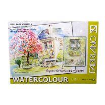 Block Fabriano watercolor Studio 300 g 35 x 50 cm x  20 hojas  (808297)