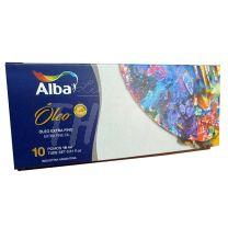 Set de oleos Alba 10 pomos x 18 ml