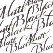 Tinta para caligrafia 30 cc negro mate W&N